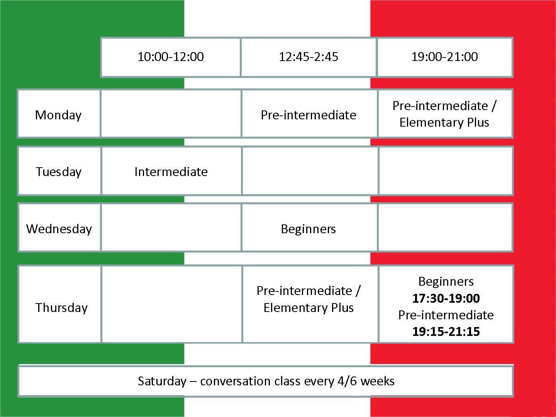 Italian courses 2016 2017 for web NEW 07.09