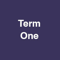 Term One – French