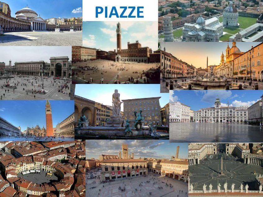 Le piazze italiane
