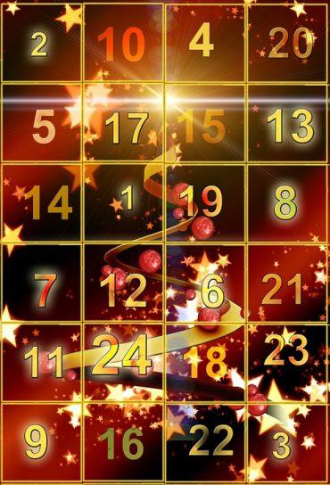 French Advent Calendar