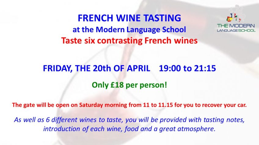 Discovering French Wines – French wine tasting