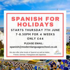 Spanish for holidays